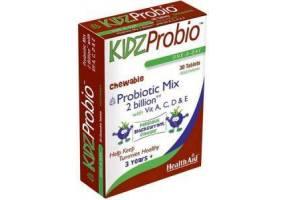 HEALTH AID Kidz Probio 30s -chewable