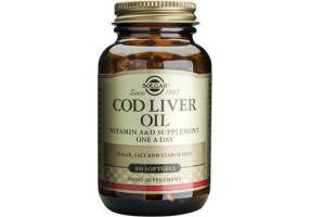 SOLGAR Cod Liver Oil Softgels 100s