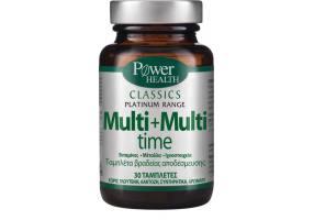 POWER HEALTH Classics Multi+Multi Time 30caps
