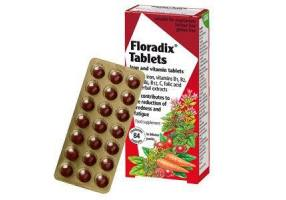 POWER HEALTH Salus Floradix Tablets 84Tabs