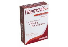 HEALTH AID Haemovit Plus - 30 Capsules