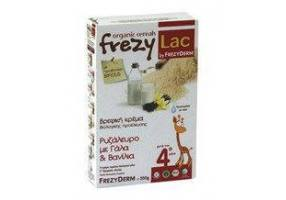 Frezylac Bio Baby Cream With Rice Flour, Milk & Vanilla 4+ 200gr