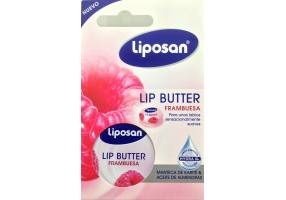 LIPOSAN Lip Balm Butter Raspberry & Frambuesa 16,7gr
