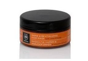 APIVITA Μάσκα Μαλλιών Για Λάμψη & Αναζωογόνηση Με Εσπεριδοειδή & Μέλι 200ml