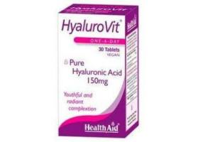 HEALTH AID Hyalurovit Hyaluronic Acid 150mg - 30 Tablets