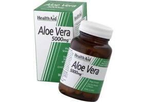 HEALTH AID Aloe Vera 5000mg - 30 Capsules