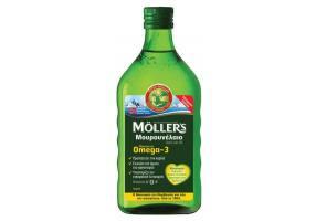Moller's Cod Liver Oil Lemon 250ml