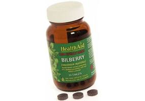 HEALTH AID Healthaid Bilberry Berry Extract Tablets 30's
