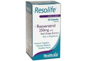 HEALTH AID Resolife (Resveratrol 250mg) - 60 Capsules