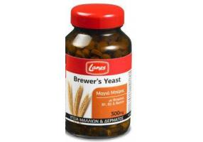 LANES Βrewer's Yeast Μαγιά Μπύρας 300mg 200tabs