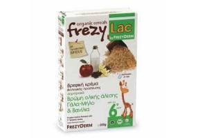 FREZYLAC Bio Cereal Βρωμη-γαλα-μηλο-βανιλια 200gr