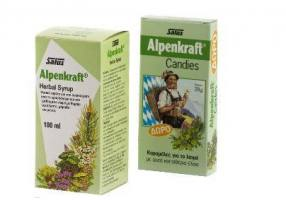 POWER HEALTH Alpenkraft Herdal  Syrup 100ml + Δώρο Alpenkraft Candies 28g