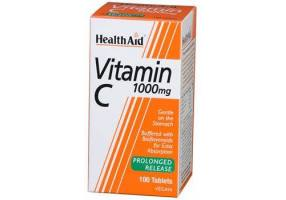 HEALTH AID Vitamin C 1000mg Prolonged Release Tablets 30's