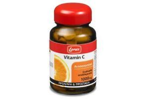 LANES Βιταμίνη C 1000mg 30caps