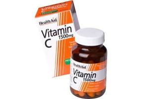 HEALTH AID Vitamin C 1500mg Prolonged Release - 30 Tablets