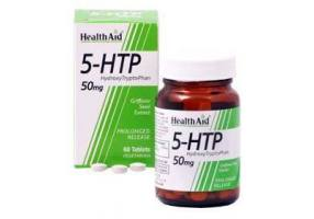 HEALTH AID 5-HTP 50mg - Prolonged Release - 60 Tablets