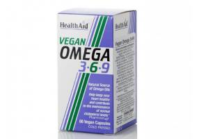 HEALTH AID VEGAN Omega 3 - 6 - 9 60caps