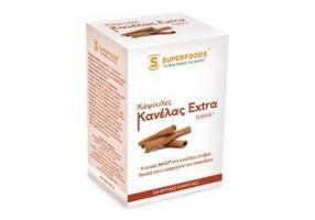 SUPERFOODS Κάψουλες Κανέλας Extra Eubias™ 50caps