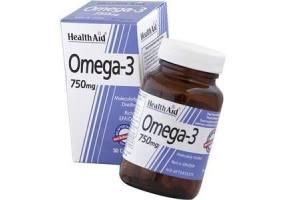 Omega 3 750mg (EPA 425mg, DHA 325mg) Capsules 30's