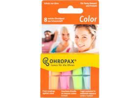 Ωτοασπίδες Ohropax Color 8 τεμάχια