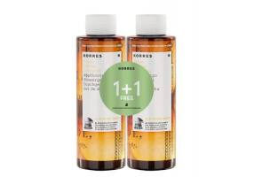 KORRES SHOWERGEL 1 + 1 KITRO 250ML + 250ML