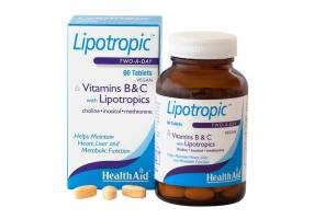 Lipotropics with Vitamin B & C 60tabs