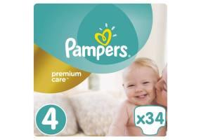 Premium Care Πάνες Μέγεθος 4 (Maxi) 8-14 Kg 34 Πάνες