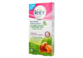 Veet Natural Inspirations Cold Wax All Skin Types 20pcs