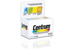 CENTRUM A TO ZINC FOOD SUPPLEMENT WITH VITAMINS, METAL DETAILS AND 30TABS LUTEIN