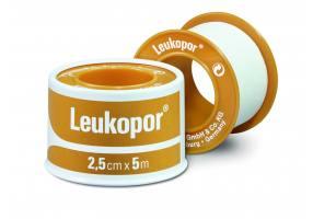 Leukopor Αυτοκόλλητη Yποαλλεργική Eπιδεσμική Tαινία 2,5cm x 5m