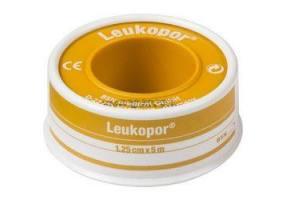 Leukopor Αυτοκόλλητη Yποαλλεργική Eπιδεσμική Tαινία 1.25cm x 5m