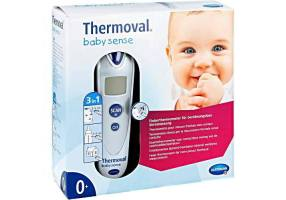 Thermoval Baby - Fever Thermometer for Unmatched Thermometer from the Forehead