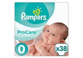 Pampers Procare Premium Protection No.0 (Micro) 1-2.5 kg38 pcs