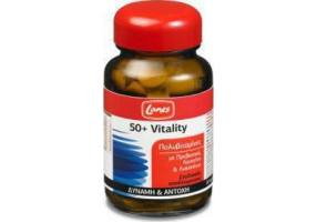 Lanes Πολυβιταμίνες 50+ Vitality, 30 ταμπλέτες σταδιακής αποδέσμευσης