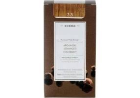 Korres Argan Oil Advanced Colorant 7.3 Ξανθό Χρυσό Μελί