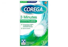 COREGA - 3 Minutes Cleansing Tablets for Dentures 36tabs
