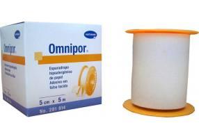 Hartmann Omnipor 5mx5cm Αυτοκόλλητη Ταινία Στερέωσης 1 Τεμάχιο