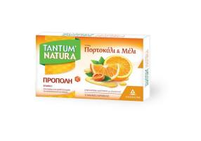 TANTUM NATURA Neck cushions with propolis, orange & honey 15 soft candies