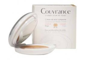 Avene Couvrance Κρέμα Compact Creme για Ξηρές-Πολύ Ξηρές Επιδερμίδες 2.5 Beige Spf30 10gr