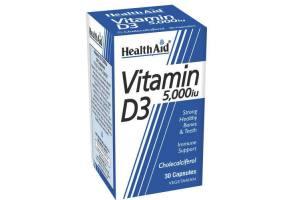 Vitamin D3 5000iu 30tabs