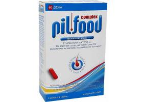 Pharmazac Pilfood Complex Dietary Supplement for Hair Loss, 60 tablets