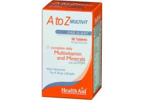 Multivitamin + Mineral A to Z - 30 Tablets