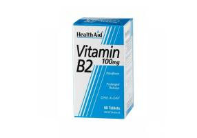 Vitamin B2 (riboflavin) 100mg Tablets 60's