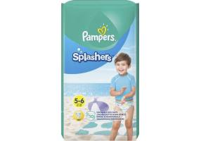 Pampers Splashers Size 5-6 14+ kg Swim diapers, 10 pieces