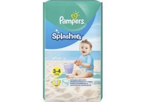 Pampers Splashers Μέγεθος 3-4 6-11kg Πάνες-Μαγιό, 12 τεμάχια