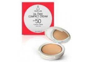 YOUTH LAB Oil Free Compact cream spf 50 medium colour 10g