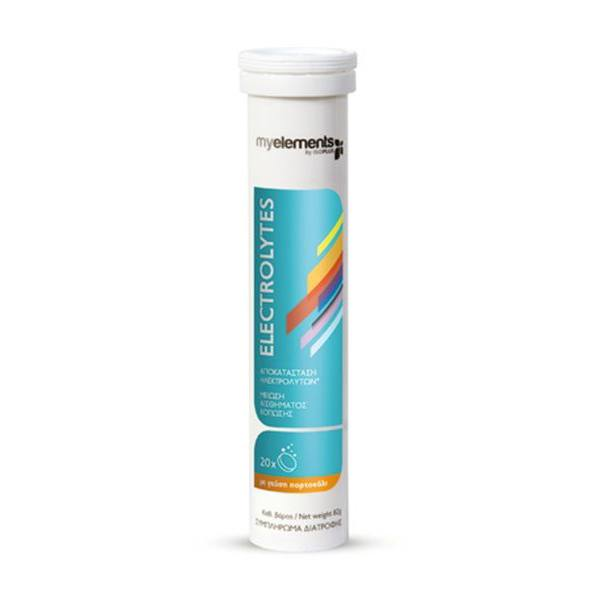 MYELEMENTS Electrolytes Orange 20 Effervescent