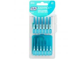 TePe EasyPick M/L Ενισχυμένη Ελαστική Οδοντογλυφίδα, 36τεμ,μπλε