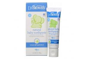 Dr. Brown's Natural Baby Toothpaste 40gr