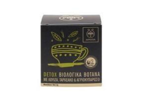 Apivita Detox Organic Deodorant Tea with Louise, Tiraspol & Wild Boar, 10 x 1.5gr